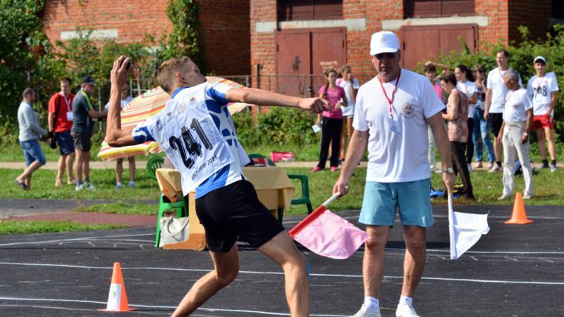 Приём нормативов Всероссийского физкультурно-спортивного комплекса