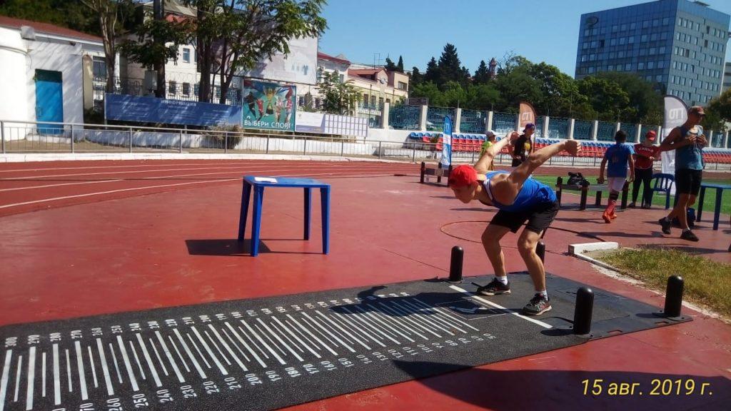 Сборная России по боксу участвует в Летнем фестивале ГТО