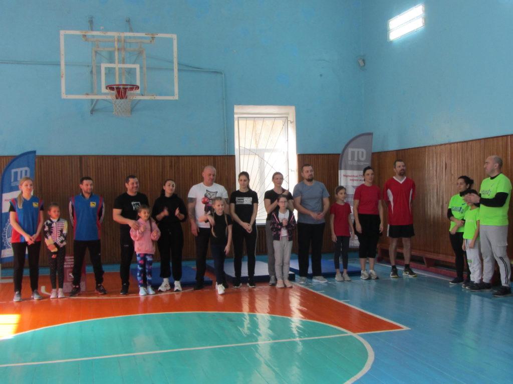 ГТО среди семейных команд в Туапсинском районе