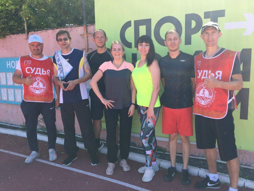 Работники ИТРК «Туапсе» приняли участие в летнем фестивале ГТО